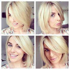 Love Pippa O'Connor's short hair