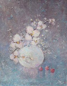 Купить Белые  орхидеи - белый, орхидеи, белые орхидеи, цветы, картина, для…