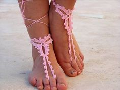 patrones sandalias crochet - Buscar con Google