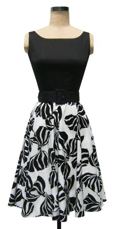 The Trashy Diva Holly Dress in Zebra Bows!