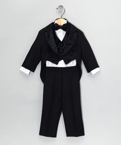 nothing says 'black tie' affair like a little guy in a tux--  zulily.com  Lida
