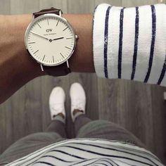 Daniel Wellington watch! Stunning simplicity.