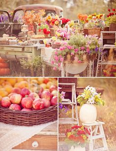 French Farmer's Market Engagement Session | Green Wedding Shoes Wedding Blog | Wedding Trends for Stylish + Creative Brides