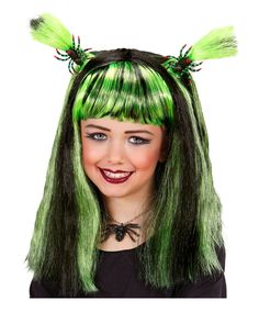 Halloween Cosplay Kostüm Perücke Hair Zubehür Wig Wigs Karneval Fasching Braid