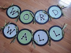kindertrips: Word Wall Banner