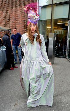 Lady Gaga at Tate Modern in London, UK.