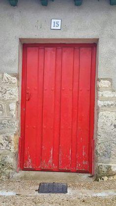 #Red #Door #CaminoDeSantiagoDeCompostela #Spain