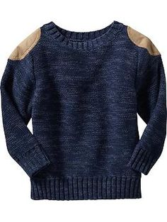 Shoulder-Patch Sweater for Baby | Old Navy