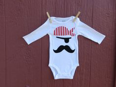pirate long sleeve bodysuit for little boy by SmallWorldClothing, $20.00