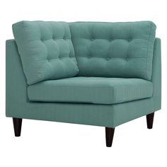 The Empress Gray Upholstered Fabric Corner Sofa makes for an essential centerpiece of any home. The corner sofa is made from solid wood, and has a premium polyester upholstery for a classy look. For extra comfort, the sofa comes with deeply tufted bu