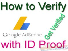 When you earn your first $ 10 from AdSense, they send you a PIN at your registered address know How to Verify Address in Google AdSense Without Pin