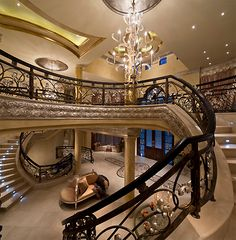 Lavish Mega Mansion In South Africa.a Little Out Of Most Of Our Leagues  With An All Marble And Silver Staircase.