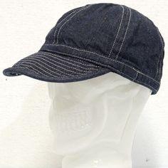 BUZZ RICKSON'S(バズリクソンズ)DENIM(デニム)A-3 CAP/br02308