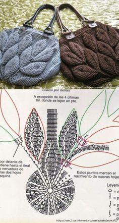 Crochet Handbags Crochet Purses Pola Rajut Knitted Bags Handmade Bags Emboss Purses And Bags Crochet Patterns Crochet Necklace Crochet Pouch, Crochet Stitches, Free Crochet, Knit Crochet, Beach Crochet, Cotton Crochet, Crochet Shoes, Crochet Bags, Crochet Handbags