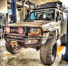 Toyota LandCruiser 76. What a beast! #toyota #landcruiser #landcruiser76…