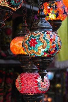 Turkish lamps #Turkey #travel