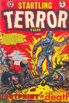 Comic Book Cover For Startling Terror Tales #6
