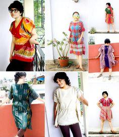 Lungis of India by Sanjukta #Lungi #sarong #india