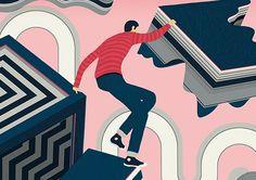 Illustrations by Sam Chivers | Inspiration Grid | Design Inspiration