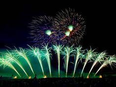 Feuerwerke in den Herrenhäuser Gärten Hannover