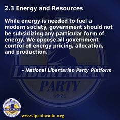 Energy and Reasources
