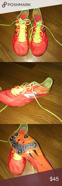 3581bca42e98ab New Balance Women s Track Spikes Lightly worn - only a few times during one  season of