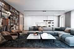 Interior for a Young Family by Diff.Studio