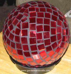 bowling ball garden art                                                                                                                                                     More