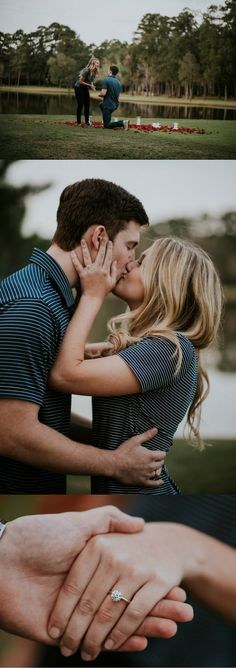 Every detail of this golf course proposal is so romantic, and the full story is totally swoon-worthy.