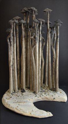 *Ceramic Sculpture (by Alberto Bustos)