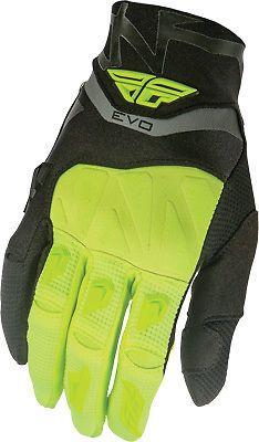 Fly Racing MX Evolution Motocross Glove Black/Grey/Hi-Vis #FlyRacing