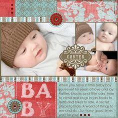 Layout: Baby Carter
