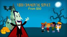 This super charged  spooky video is packed with your company's awesome people, services & products. I will create a video that get you or your business noticed
