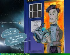 Portal 2 and Doctor Who