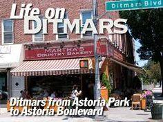 up and down Ditmars Blvd Astoria NY