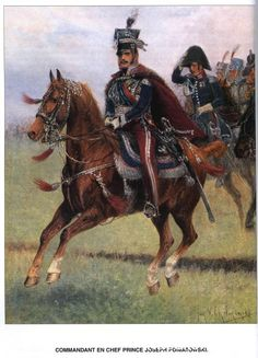 Army of the Grand Duchy or Warsaw (Poland) of the Napoleonic Wars  Commandant en chef Prince Joseph POniatowski
