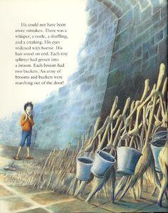 "Inga Moore, ""The Sorcerer's Apprentice"""
