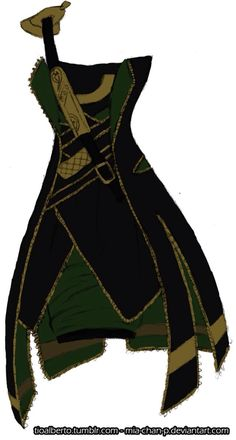 Loki dress genderbender