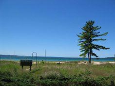 One of my favorite places on earth... Menonaqua Beach Club in Harbor Springs, MI...