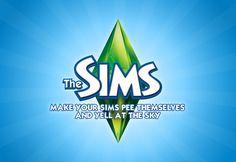 The Sims honest slogan