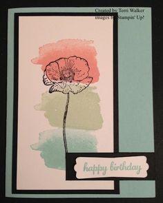 Happy Watercolor Card