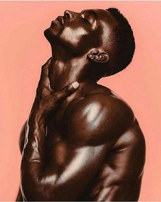 Dark Skinned men are handsome : Photo My Black Is Beautiful, Beautiful Men, Black Pics, Dark Skin Men, Brown Skin, Body Photography, Portrait Photography Men, Male Poses, Male Beauty