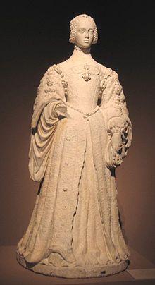 Isabel de Portugal  de Pompeo Leoni Museo del Prado (Madrid)