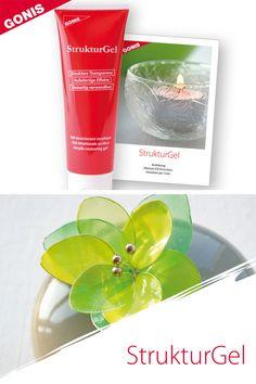 Transparente Acrylpaste auf Wasserbasis für reliefartige Effekte. Glatte, cremige Konsistenz. Mit allen GONIS Farben abtönbar. Auch zum Gestalten von filigranen Drahtblumen.