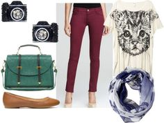Class to Night Out: Oxblood Jeans - College Fashion