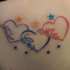 Resultado de imagen de infinity symbol with heart tattoo