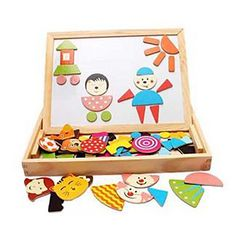 Multifunctional+Magnetic+Wooden+Puzzle+Drawing+Board+–+EUR+€+37.81