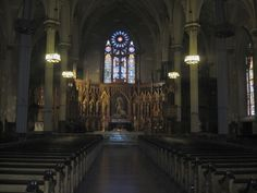 St Patrick's cathedral in little Italy. Where it all began September 1924 where my beautiful grandparents got married.