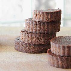 Deliciously rich Black Bean Brownies made with cocoa, coffee and honey.