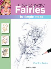Painting Drawing - How to Draw Fairies in Simple Steps
